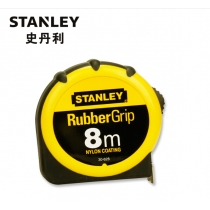 STANLEY史丹利 橡塑公制卷尺 30-616-23 8M*25MM