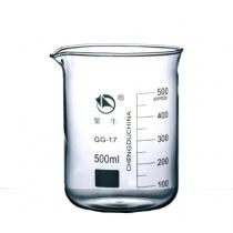 蜀牛 玻璃低型烧杯